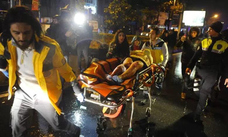 NY terror attack in Istanbul nightclub