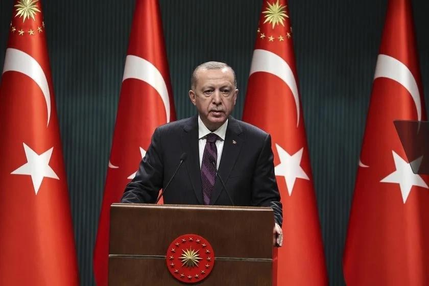 Erdogan's mocking freedom of press speech