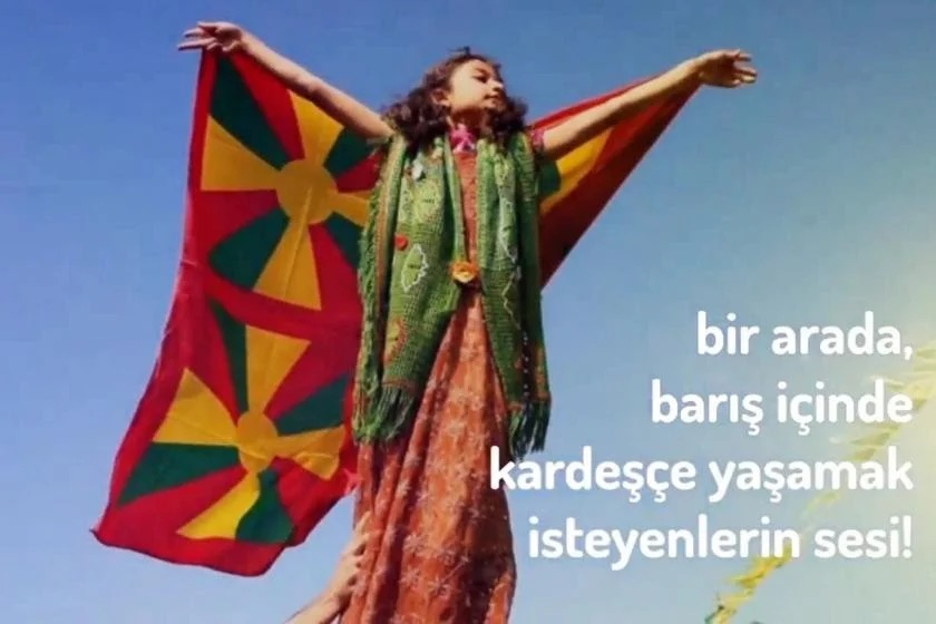 Evrensel newspaper fined for anniversary advert featuring Kurdish colours
